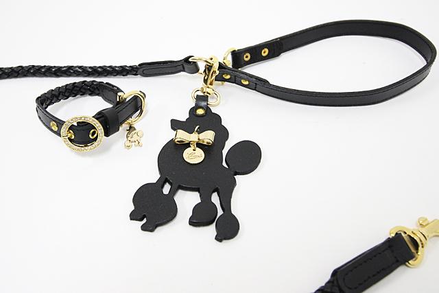 犬 首輪 かわいい 黒