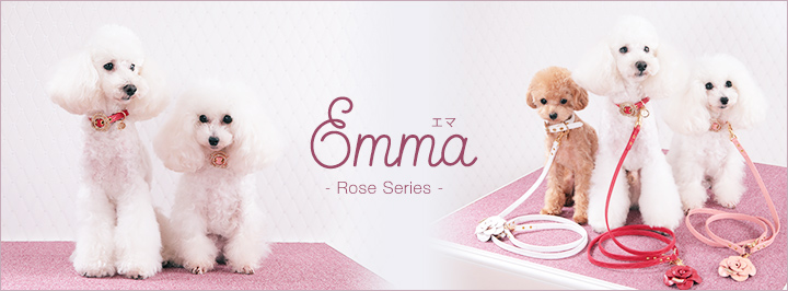 ローズ 犬 リード 首輪 通販 バラ 薔薇